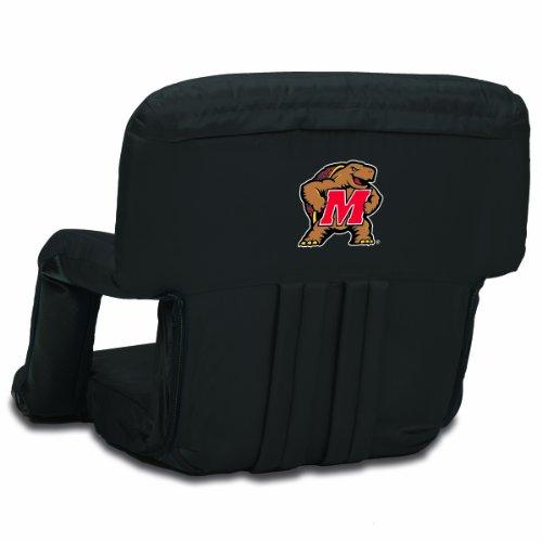 NCAA Maryland Terrapins Ventura Portable Reclining Seat, - Team Backpack Terrapins Maryland