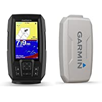 Garmin Striker Plus 4 with Dual-Beam transducer and Protective Cover, 4 inch Screen 010-01870-00
