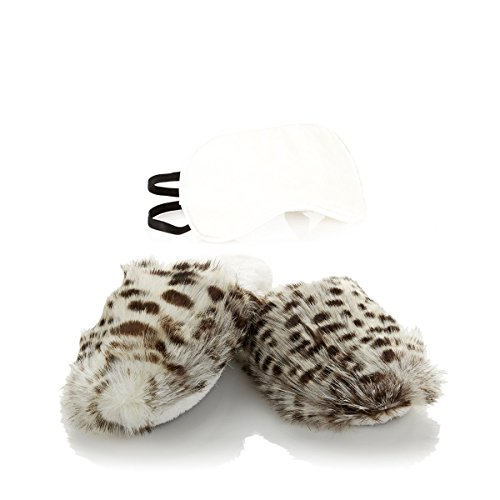 adrienne-landau-eye-mask-bedroom-slipper-set-small-5-6-white