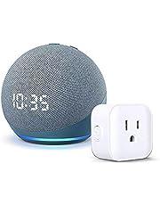 Nuevo Echo Dot (4ta Gen) - Bocina inteligente con reloj y Alexa