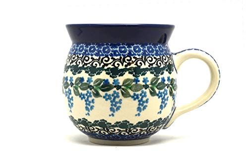 Polish Pottery Mug - 11 oz. Bubble - Wisteria ()