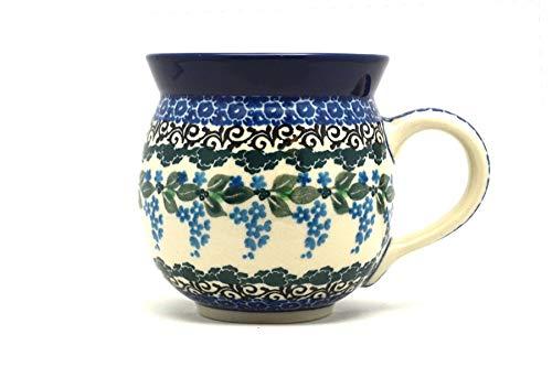 (Polish Pottery Mug - 11 oz. Bubble - Wisteria)