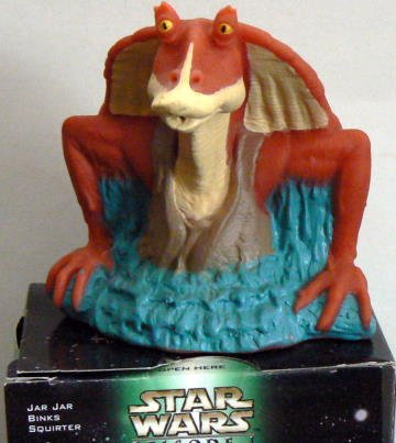 STAR WARS: Episode 1 ~ KFC - JAR JAR BINKS Squirter by Applause