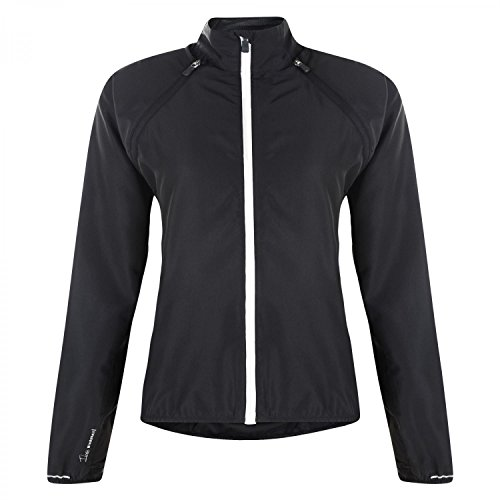 Dare2b Womens/Ladies Unveil Lightweight Breathable Windshell Jacket Negro - negro