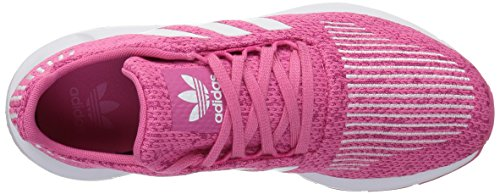 adidas Originals Baby Swift Running Shoe, White/semi Solar Pink, 4K M US Toddler by adidas Originals (Image #7)