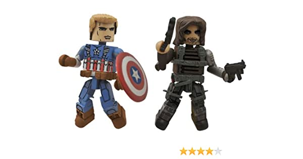 Diamond Select Toys Marvel Minimates Series 55 Captain America The ...