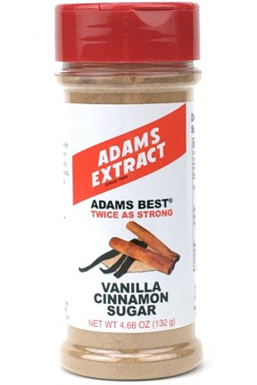 Adams Extract Vanilla Cinnamon Sugar 4.6 oz (Pack of 3)