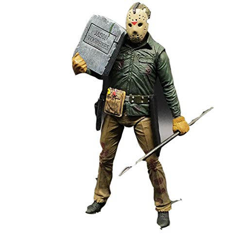 PLAYER-C 3D Friday The Jason Leatherface Chainsaw Ultimate Michael Myers Freddy Krueger Pennywise Joker Action Figure ()