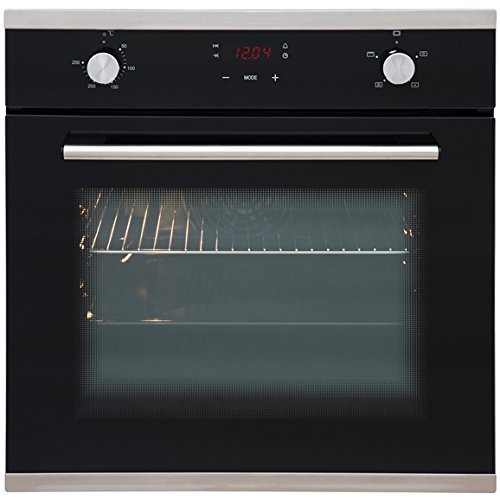 SIA SO103 60cm Built In Multi Function Touch Control Single Fan Electric Oven