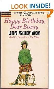 Happy Birthday Dear Beany Lenora Mattingly Weber Amazon