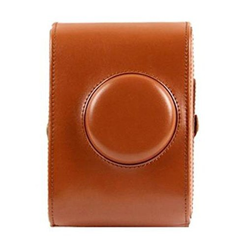 Insho Retro PU Leather Lomo Instant Camera Case Bag for Lomography Lomo'Instant Camera - Brown