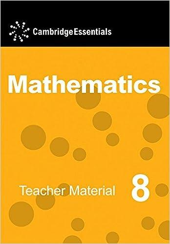 Cambridge Essentials Mathematics Year 8 Teacher Material CD-ROM ...