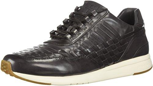 Cole Haan Men's Grandpro Runner Huarache Sneaker, Magnet Woven Burnish, 11 Medium US