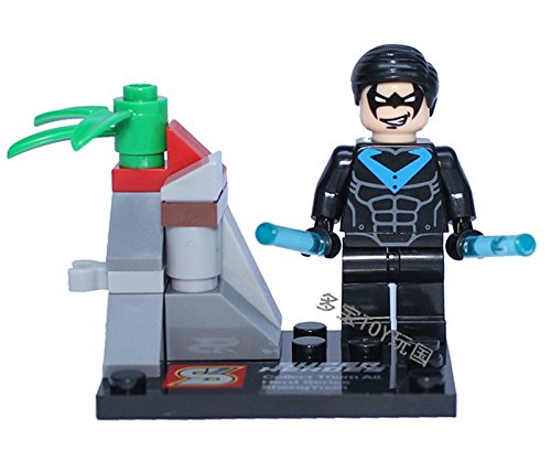 8pcs/lot Building Blocks Bricks Toys Minifigure Super Heroes Classic Collection Gift Compatible With Lego (NEW)