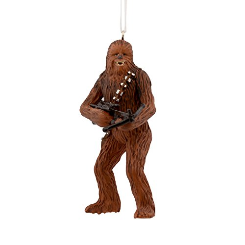 Hallmark Star Wars Chewbacca Bowcaster Ornament Movies & TV,