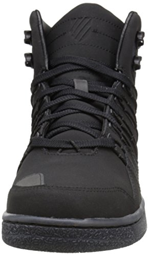 K-swiss Mens Volley Mid P Fashion Sneaker Nero / Ghiaccio