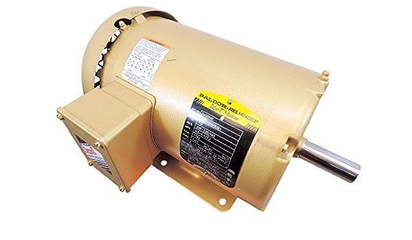 3 HP 1 Phase TEFC 145T Motor