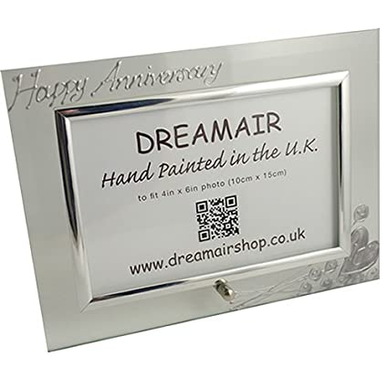 Amazon.com: 10th Tin Wedding Anniversary Gift Photo Frame( Land ...