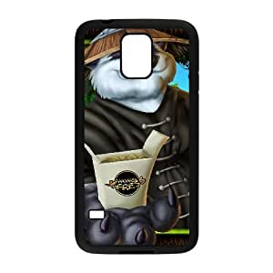 Samsung Galaxy S5 Cell Phone Case Black World Of Warcraft Custom FDFNFDKND2846
