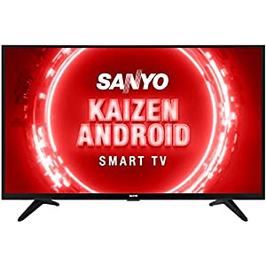 Sanyo 80 cm (32 inches) Kaizen Series HD Ready Certified Android LED TV XT-32RHD4S (Black) (2020 Model)