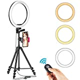 """Photo : 12"""" Selfie Ring Light with Tripod Stand"""
