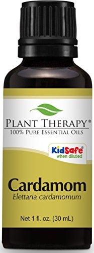 Plant Therapy Cardamom Essential Oil 30 mL (1 oz) 100% Pure, Undiluted, Therapeutic Grade