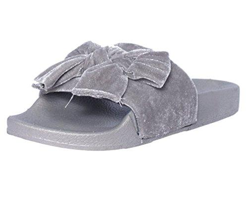 Zapatillas Yoki Mujeres Riri-60 Slipper Grey
