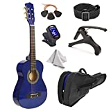"""30"""" Wood Guitar with Case and Accessories for"""