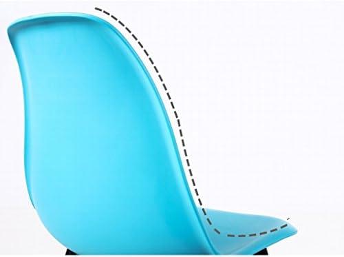 SLL- Chaise de maison en bois massif chaise moderne minimaliste moderne (couleur : D)