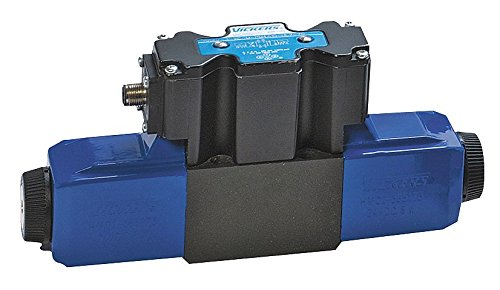 Vickers DG4V Series Solenoid Operated 4 Way Hydraulic Valve, 5075 psi Maximum Pressure, Tandem Spring Centered Spool Type, 12VDC, 10 gpm Flow Rate by Vickers