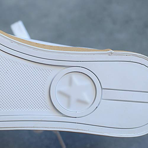 scarpe scarpe casual Scarpe estiva tela 36 di di uomo scarpe Bianca Size da tendenza selvaggia Color WangKuanHome Green denim uomo da tela vYxgwSndPq