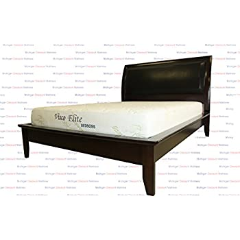 Amazon Com Bed Boss Bamboo Infused Cool Memory Foam