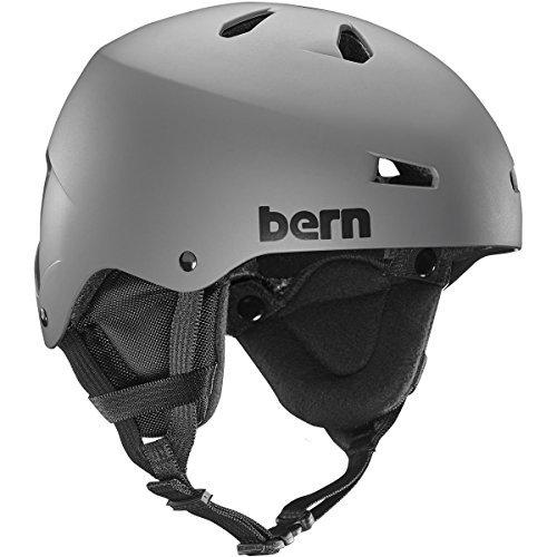 Macon Helmet Matte - Bern Team Macon Snow Helmet Matte Grey XL
