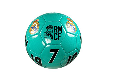 (Real Madrid C.F. Authentic Official Licensed Soccer Ball Size 5 -009)