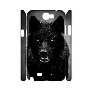 DDOUGS Black Wolves New Fashion Cell Phone Case for Samsung Galaxy Note 2 N7100, Customised Samsung Galaxy Note 2 N7100 Case