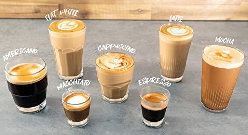 Gastroback 42619 Design Espresso Advanced Barista, programmable portafilter espresso machine, integrated grinder, 11 grinding grades, 220g beans container, removable 2.5L water tank, 15 bar