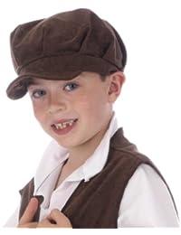 Flat Cap Costume for Kids (Brown)