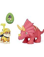 PAW Patrol, Dino Rescue Rubble and Dinosaur Action Figure-set, voor kinderen vanaf 3 jr.