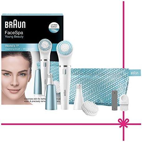 Braun Face SE832E - Set de regalo con depiladora facial y cepillo ...