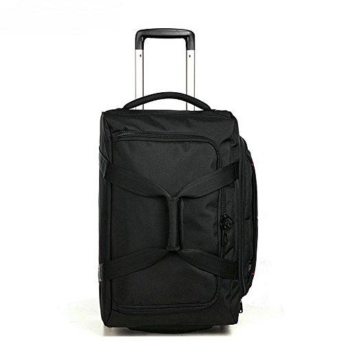 AspenSport Roller Luggage Bag Drop Bottom Wheeled Duffel Bag Travel Bag AS-T10BLK24 by AspenSport (Image #4)
