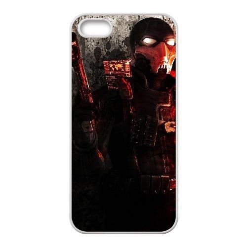 V5L35 recherchés Weapons of Fate C0P2JQ coque iPhone 5 5s cellule de cas de téléphone couvercle coque de SE7ZNN3OI blanc