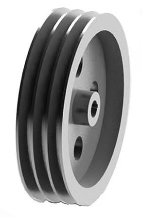 Amazon.com: SPZ 180X3-CI Ametric® Metric Cast Iron V Belt ...