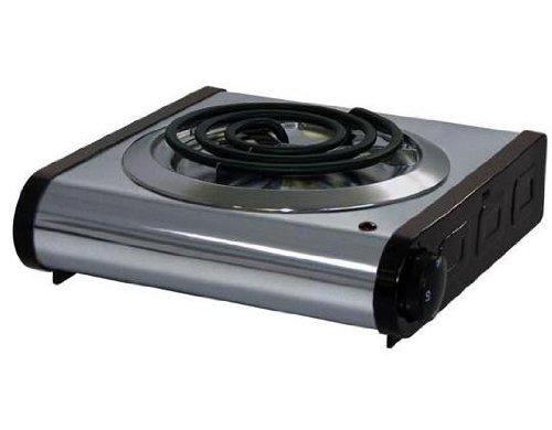 Amazon.com: Electric Portable Stove 1 Burner: Electric Countertop Burners:  Kitchen U0026 Dining