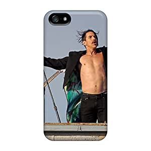 Shock Absorption Hard Phone Covers For Iphone 5/5s (ddI8123odgv) Provide Private Custom Fashion Red Hot Chili Peppers Series