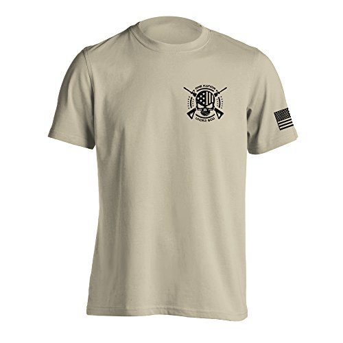 - One Nation Under God Military T-Shirt XX-Large Sand