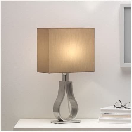 Beautiful KLABB Table lamp, light brown