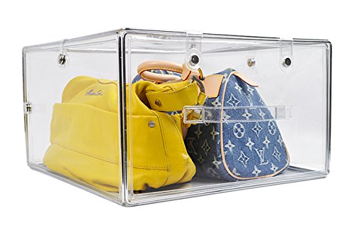 Invisibox The Clear Collapsabe Storage Solution For Hat Boxes, Shoe Boxes  And Transparent Soft Plastic