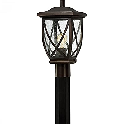 Quoizel TDR9009PN One Light Outdoor Post Lantern