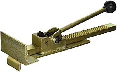 TruePower 02-8331 Professional Flooring Jack Helps Install and Straighten Hardwood Tile Floors