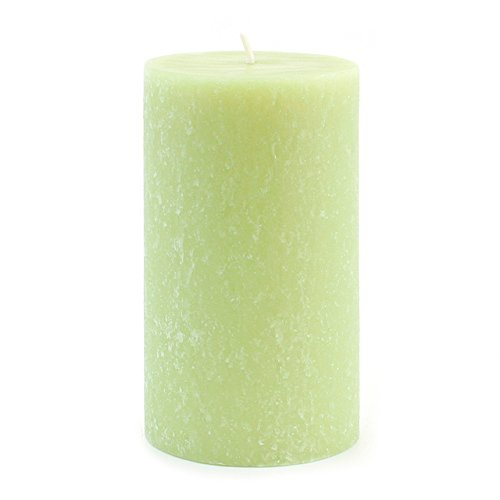 Root Scented Timberline Pillar Candle, 4  by 6-Inch Tall, Anjou Pear